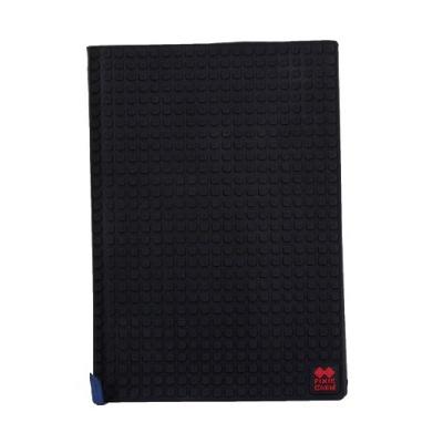 Agenda cu pixeli creativi cu coperti negru PXN-01-24