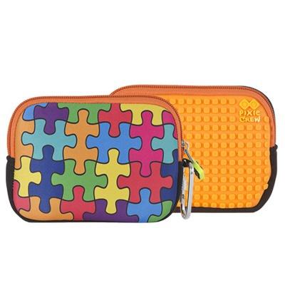 Etuiul cu pixeli creativi PIXIE CREW cu puzzle colorate PXA-08-09