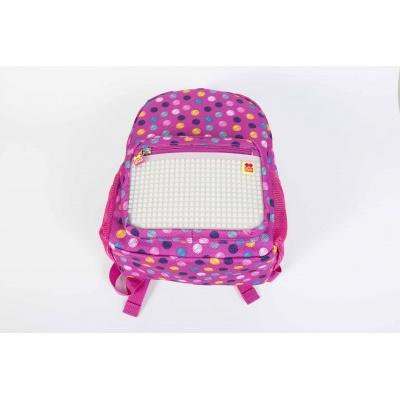 Rucsac pt. copii cu pixeli creativi puncte color/ fosforescente PXB18-01