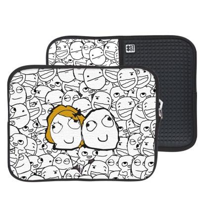 Husă pentru tabletă cu pixeli creativi DERPINA PIXIE CREW PXT-08