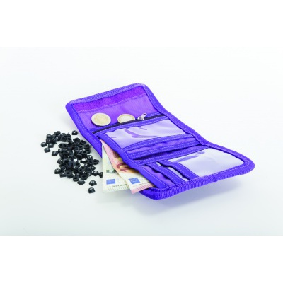 Portofel cu pixeli creativi PIXIE CREW litere violete PXA-10