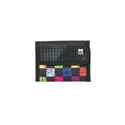 Portofel cu pixeli creativi PIXIE CREW carouri multicolore PXA-10-16