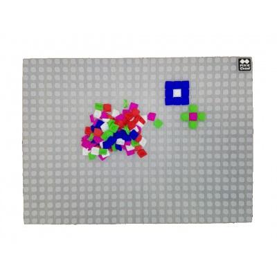Placă de joc cu pixeli creativi transparentă PXX-01-00