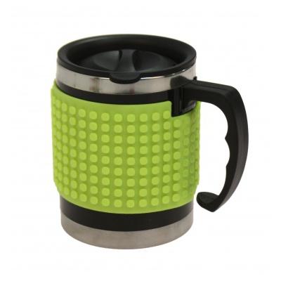 Cana termos cu pixeli creativi verde reflectorizant PXN-02-05