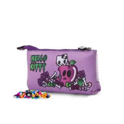 Penar scolar cu pixeli creativi Hello Kitty violet PXA-02-89