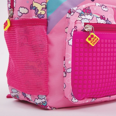 Rucsac copii pixel creativ Hello Kitty-inorog PXB-18-88 brățară GRATIS