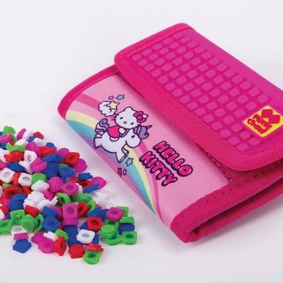 Portofel cu pixeli creativi PIXIE CREW Hello Kitty-inorog PXA-10-88