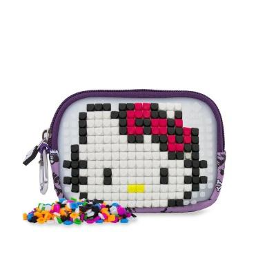 Etui cu pixeli creativi PIXIE CREW Hello Kitty violet PXA-08-89