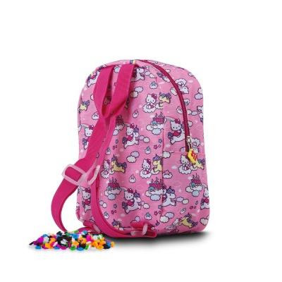 Rucsac pt.copii de grădiniță, pixeli creativi Hello Kitty-Inorog PXB-24-88