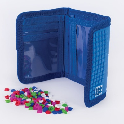 Portofel cu pixeli creativi PIXIE CREW Dino PXA-10-90