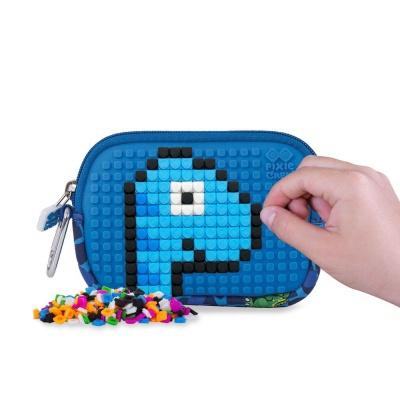 Etui cu pixeli creativi PIXIE CREW Dino PXA- 08-90