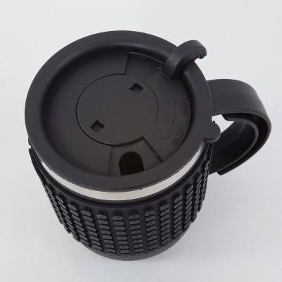 Cană cu pixeli creativi neagră PXN-02-24