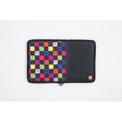 Penar scolar cu pixeli creativi carouri multicolore PXA-04-Y24