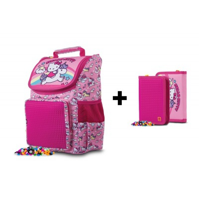 SET ghiozdan + penar Hello Kitty PXB-22-88-SET